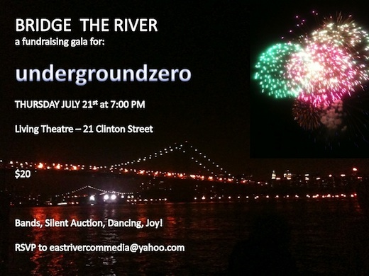 undergroundzero Bridge the River Gala